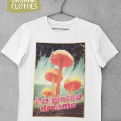 Унисекс тениска с дизайнерски принт - Pixelated dreams