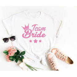 Тениска за моминско парти - Team Bride Stars