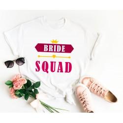 Тениска за моминско парти - Bride Squad