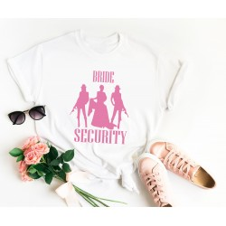 Тениска за моминско парти Bride Security