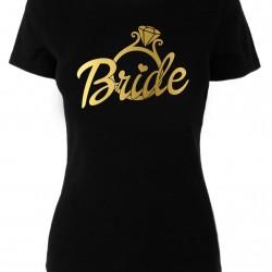 Тениски за моминско парти -  Bride Gold Ring
