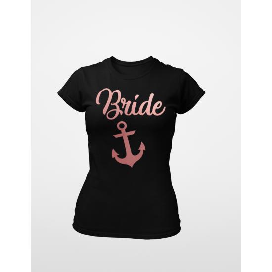 Тениска за моминско парти - Anchor Bride