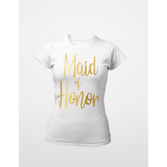 Тениска за моминско парти - Maid of Honnor