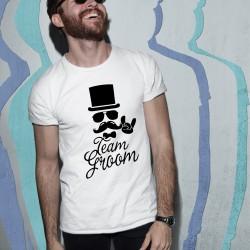Тениска за ергенско парти - Team Groom