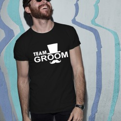 Тениска за ергенско парти - Team Groom 02