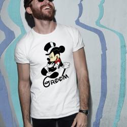 Тениска за ергенско парти - Mickey Groom