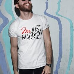 Тениска за ергенско парти - Mr Married