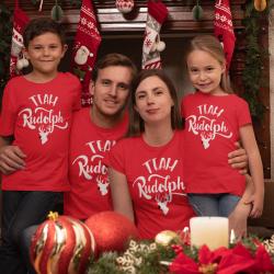 Семеен коледен комплект - Team Rudolph