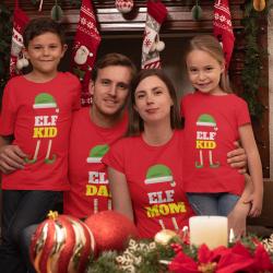 Семеен коледен комплект - ELF