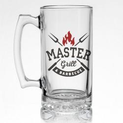 Стъклена халба за бира Grill Master