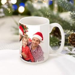 Бяла чаша с ваша снимка