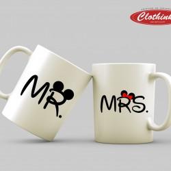 Чаши за влюбени - Mr & Mrs