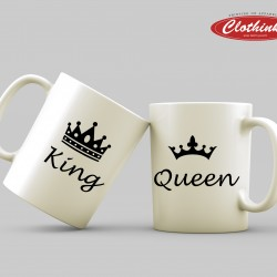 Чаши за влюбени - King & Queen