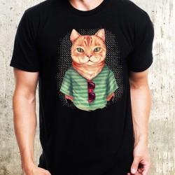 Мъжка тениска - Cat