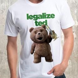 Мъжка тениска - Legalized Ted