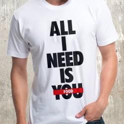 Мъжка тениска - All Food