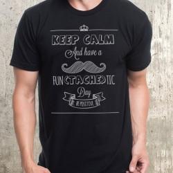 Мъжка тениска - Mustache