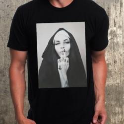 Мъжка тениска - NUN SL*T