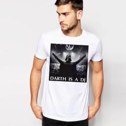 Мъжка тениска - DARTH IS A DJ