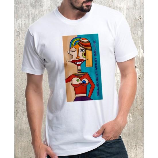 Мъжка тениска - YOUR SELFIE