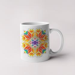 Керамична чаша с шевици