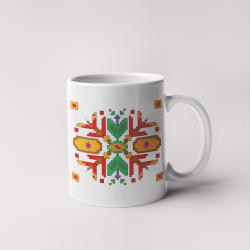 Керамична чаша с шевици 02