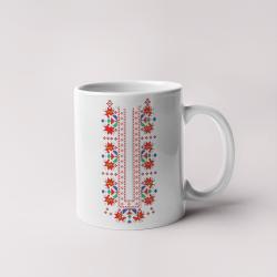 Керамична чаша с шевици 03