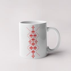 Керамична чаша с шевици 05