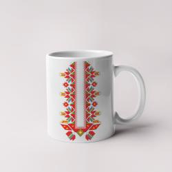 Керамична чаша с шевици 09