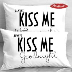 Калъфки за влюбени двойки - KISS ME