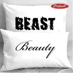 Калъфки за влюбени двойки - Beast & Beauty