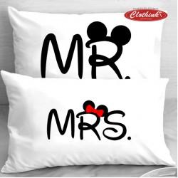 Калъфки за влюбени двойки - Mr & Mrs