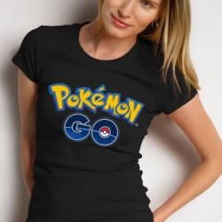Дамска тениска - POCKEMON GO logo