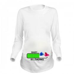 Дамска блуза с щампа за бременни - 13
