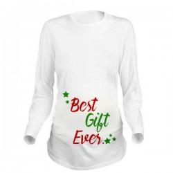 Дамска блуза с щампа за бременни - 16