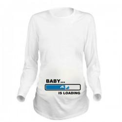 Дамска блуза с щампа за бременни - 18