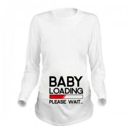 Дамска блуза с щампа за бременни - 20
