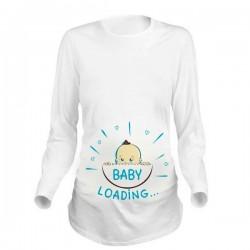 Дамска блуза с щампа за бременни - 33