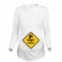 Дамска блуза с щампа за бременни - 08