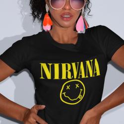 Дамска тениска - NIRVANA