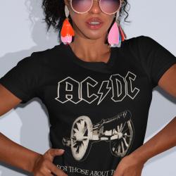 Дамска тениска - AC/DC