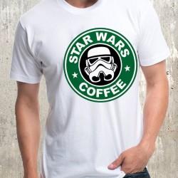 Мъжка тениска - Star Wars Coffee