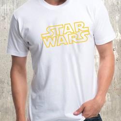 Мъжка тениска - Star Wars Logo