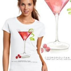 Дамска тениска - COSMOPOLITAN