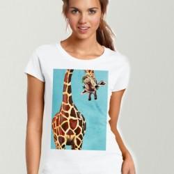 Дамска тениска - ART GIRAFFE