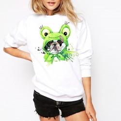 Дамска ватирана блуза - FROG DOG