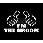 Тениска за ергенско парти - I`m The Groom