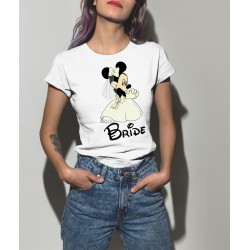 Тениска за моминско парти - Minnie Bride
