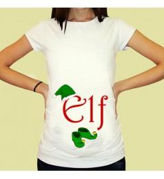 Дамска тениска с щампа за бременни - 18