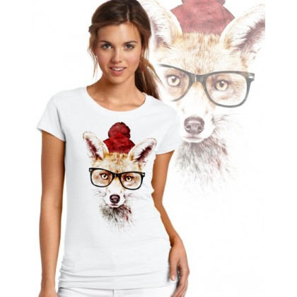 Дамска тениска - HIPSTA FOX